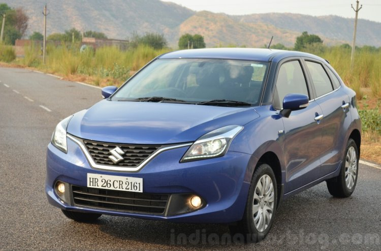 Maruti Baleno Diesel front three quarter Review