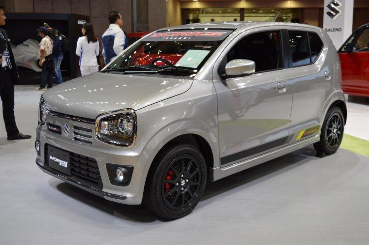 Suzuki Alto Works front quarter at the 2015 Tokyo Motor Show