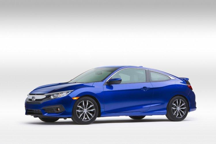 2016 Honda Civic Coupe side revealed
