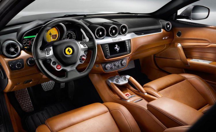 Ferrari FF interior press shot