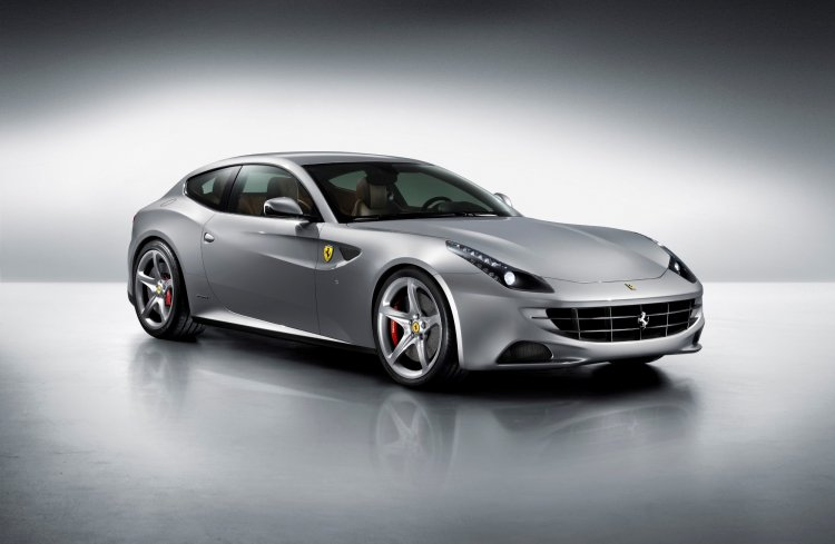 Ferrari FF press shot