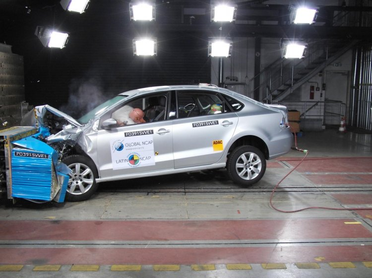 India-made VW Vento front impact scores 5 stars in Latin NCAP tests