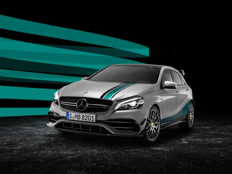 Mercedes-AMG-A45-Champions-Edition-front-three-quarters