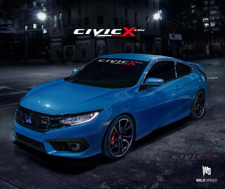 2017 Honda Civic Si to output 230 hp