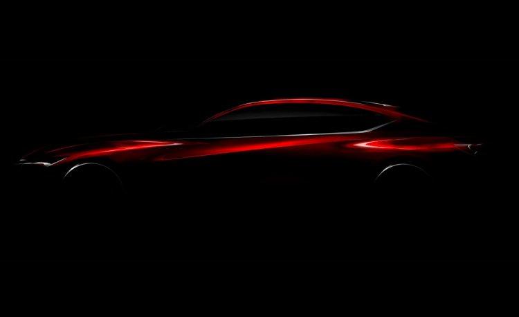 Acura Precision Concept teaser