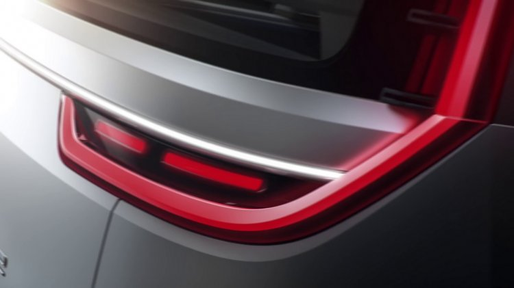 All-electric VW Bulli concept 2016 CES tail lamp teaser