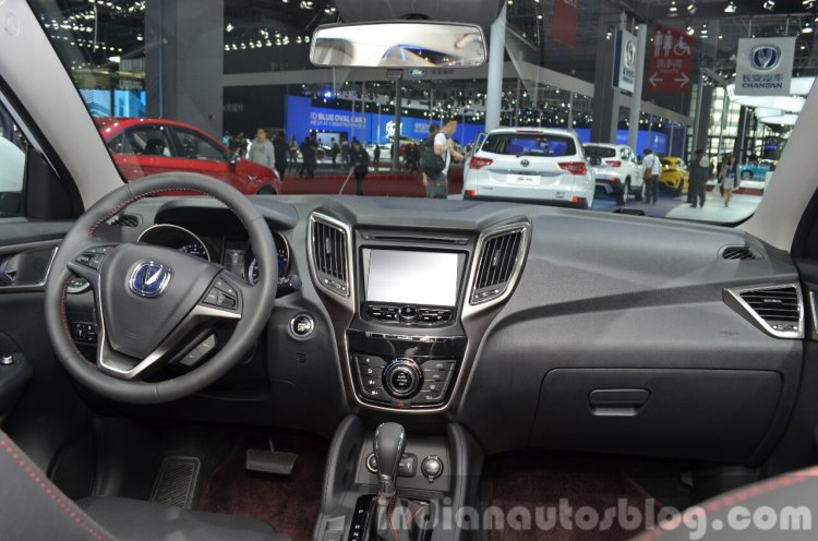 Changan CS75 dashboard at 2015 Shanghai Auto Show