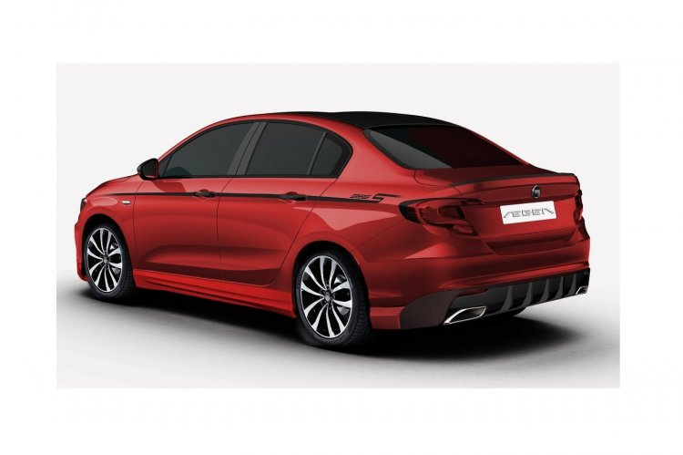 Fiat Tipo with sporty body kit rear three quarter leaked in patent images