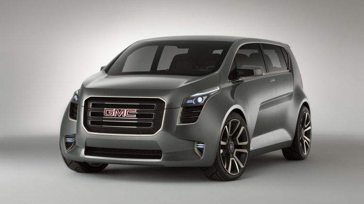 GMC Granite concept front three quarters