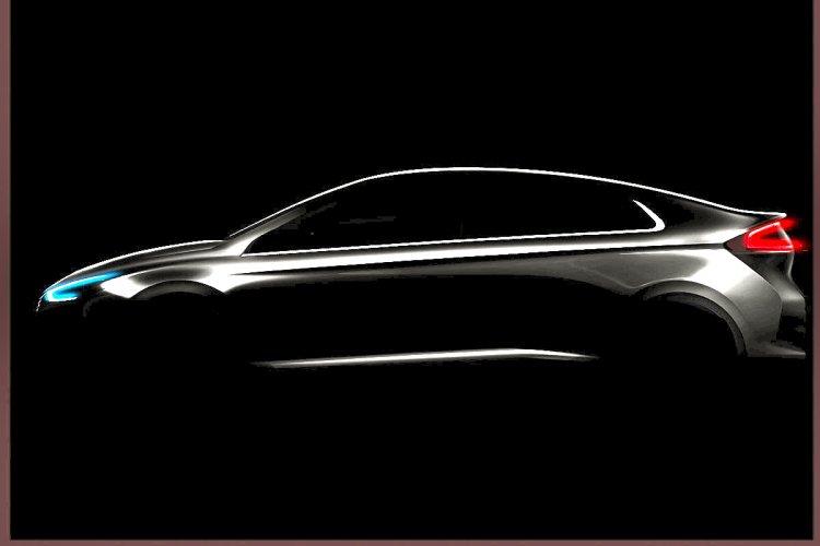 Hyundai Ioniq teased