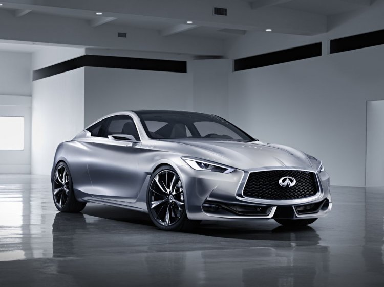 Infiniti Q60 Coupe Concept front three quarters