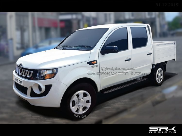 Mahindra Imperio double cab Rendering