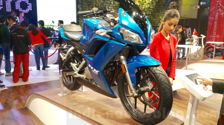 Hero HX250R at Auto Expo 2016