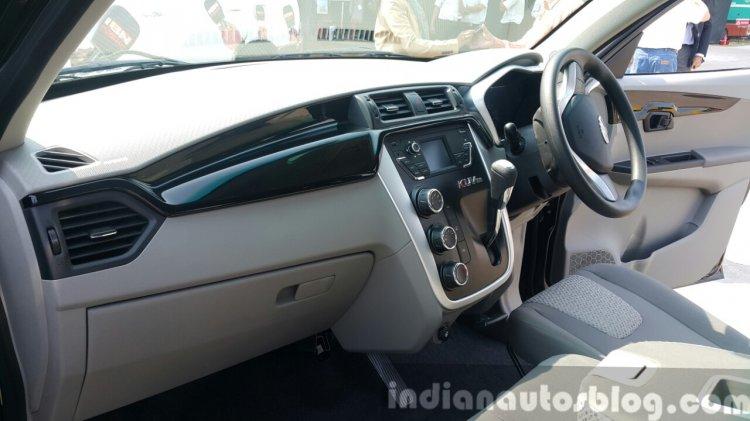 Mahindra KUV100 passenger side first drive review