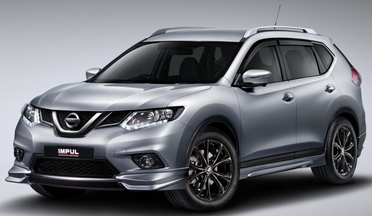 Nissan X-Trail Impul Edition front quarter launched in Malaysia