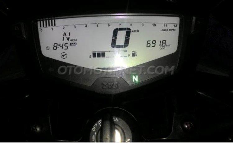 TVS Apache Speedometer
