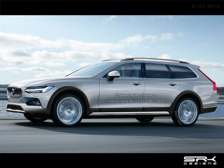 Volvo V90 Cross Country IAB rendering