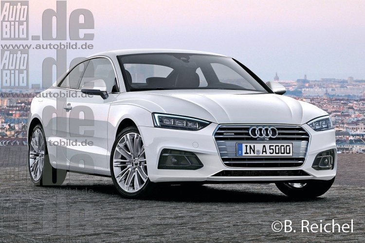 2016 Audi A5 coupe rendering