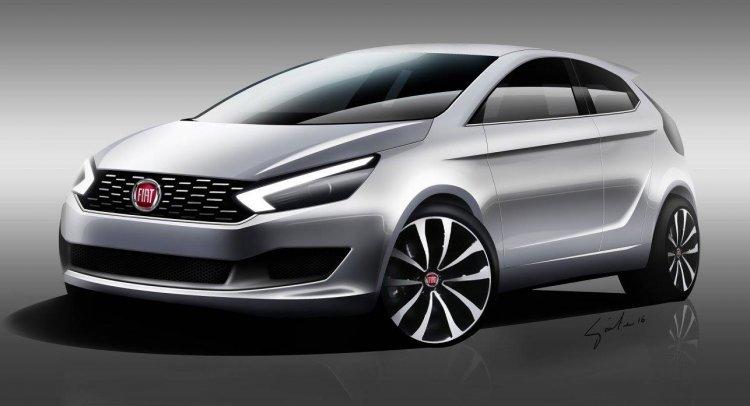 2017 Fiat Punto 3-door concept rendering