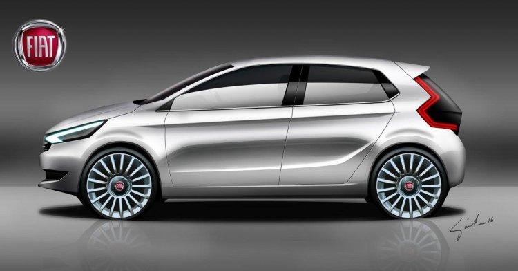 2017 Fiat Punto 5-door concept rendering