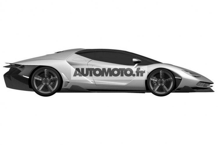 Lamborghini Centenario leaked