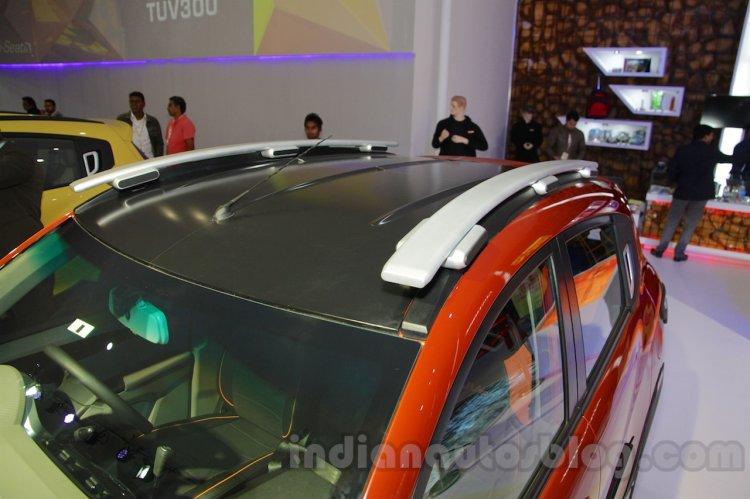 Mahindra KUV100 Xplorer edition roof rails at Auto Expo 2016