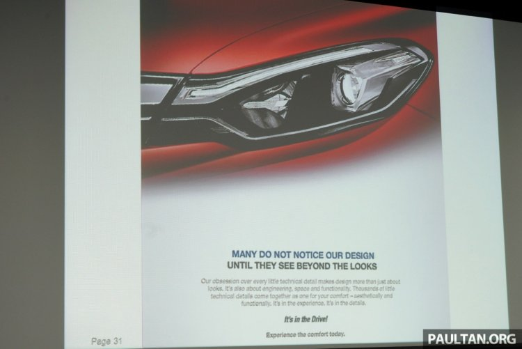 Proton Perdana headlamp specifications revealed