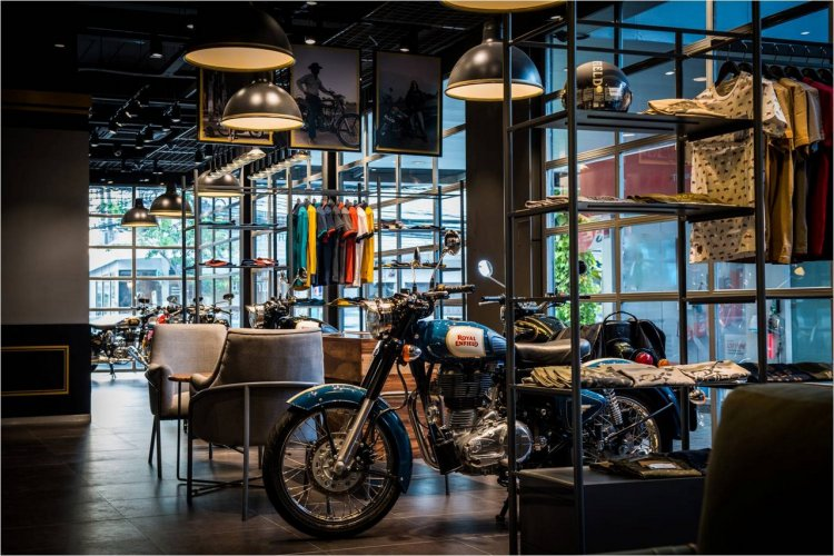 Royal Enfield Bangkok showroom