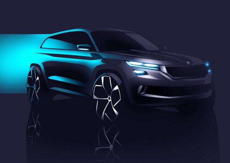 Skoda VisionS concept