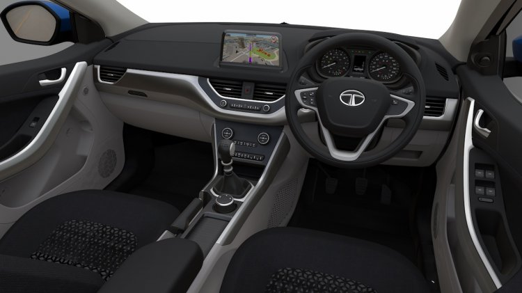 Tata Nexon interior press shots Auto Expo 2016