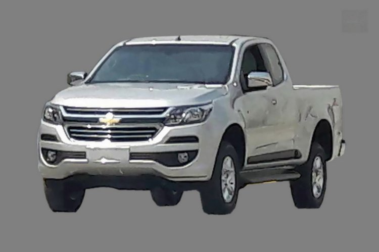 2016 Chevrolet Colorado (facelift) spy shot