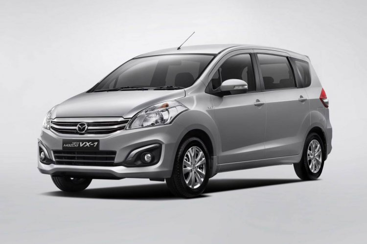 Mazda VX-1 facelift front quarter launched in Indonesia