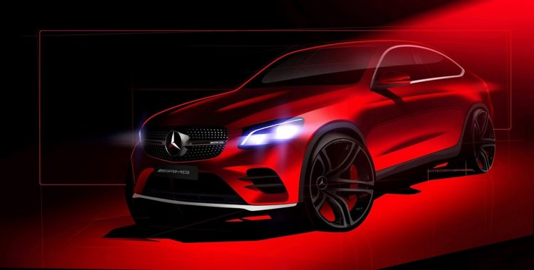 Mercedes-AMG GLC 43 4MATIC Coupe teaser