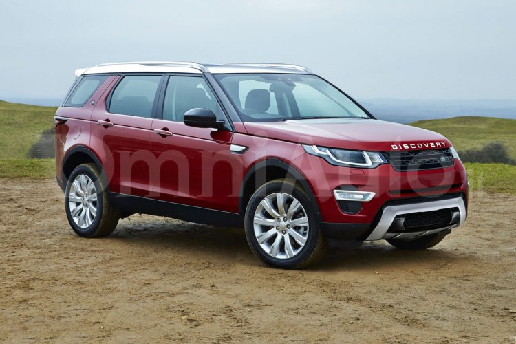 Next-gen 2016 Land Rover Discovery rendering