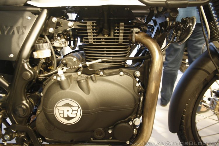 Royal Enfield Himalayan engine launched
