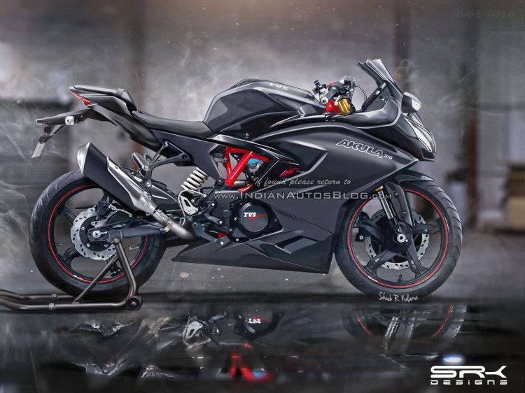 TVS Akula 310 production version IAB rendering by SRK