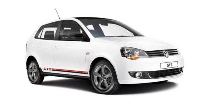 VW Polo Vivo GTS front three quarter press image