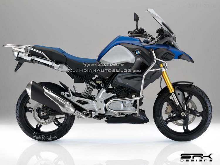 BMW G310 GS Adventure - Rendering