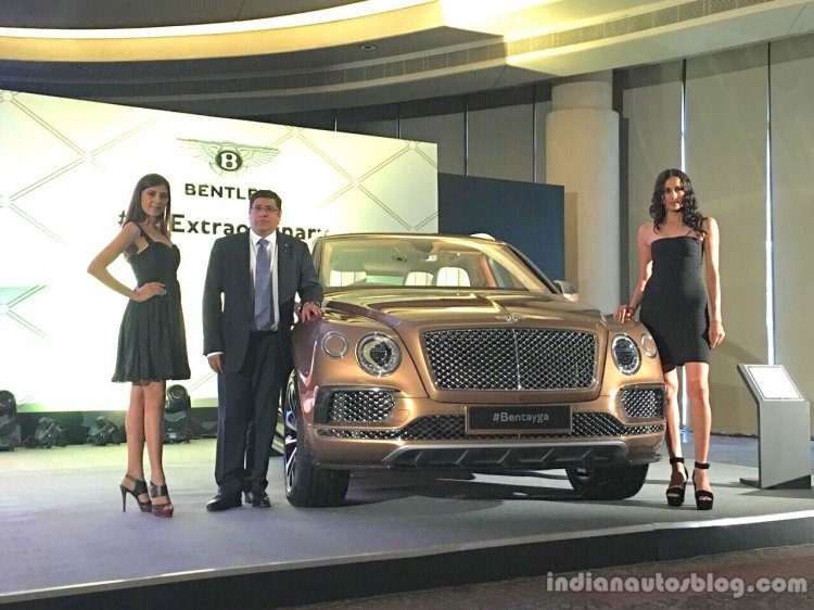 Bentley Bentayga front launched in India