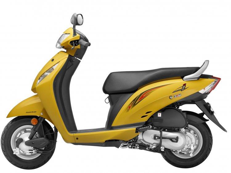 2016 Honda Activa-i Pearl Trance Yellow