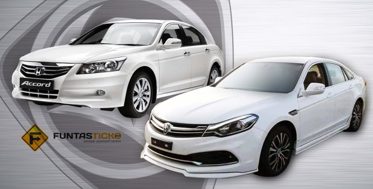 2016 Proton Perdana vs Honda Accord front In Images