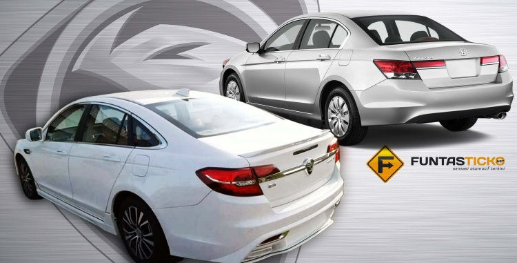 2016 Proton Perdana vs Honda Accord rear In Images