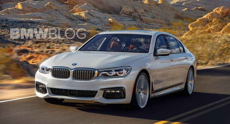 2016 BMW 5 Series front three quarter rendered realistically
