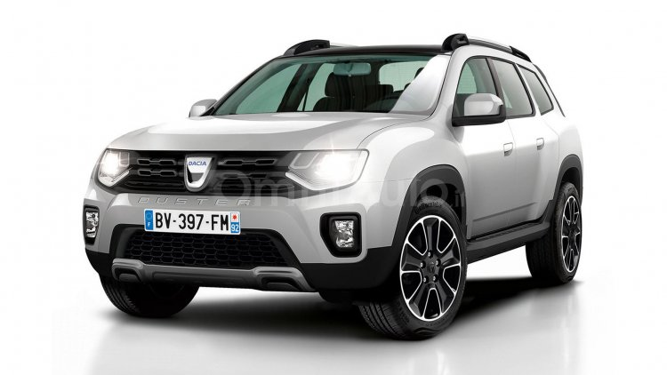 2017 Renault Duster front three quarter Rendering