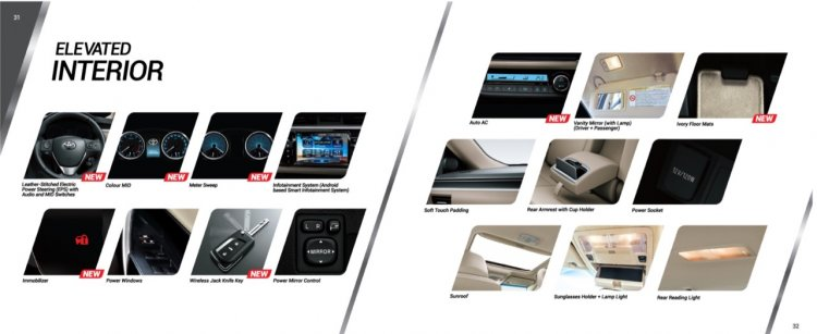 Indus Motors introduces updated Toyota Corolla interior changes in Pakistan