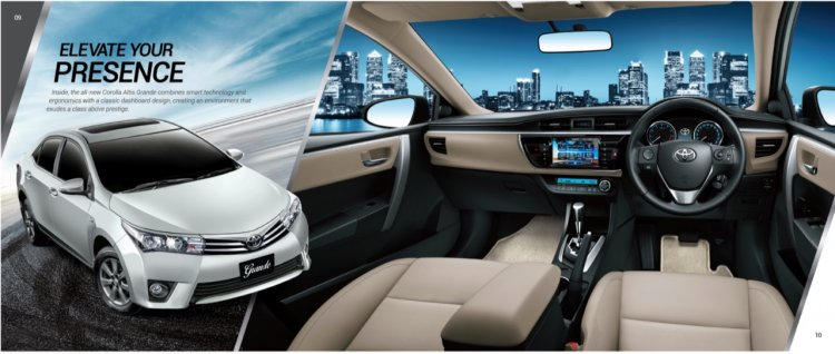 Indus Motors introduces updated Toyota Corolla interior in Pakistan