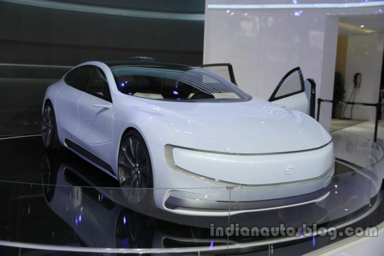 LeEco LeSEE front three quarters right side at Auto China 2016