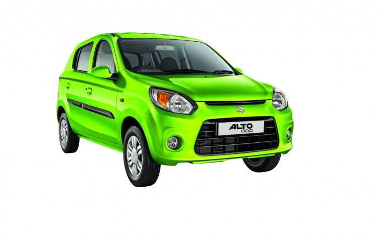 Maruti Alto 800 facelift press shots