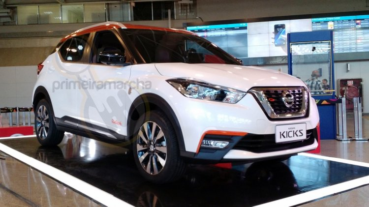 Nissan Kicks Rio front special edition showcased