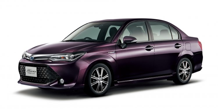 Toyota Corolla Axio front special edition launched in Japan